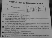 sử dụng flashcard