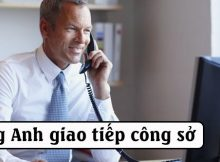 Tiếng Anh giao tiếp công sở
